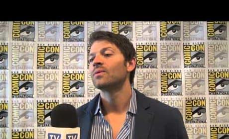Misha Collins Comic-Con Interview