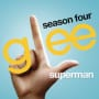 Glee cast superman