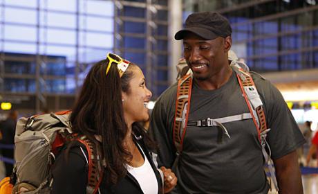 Amani and Marcus Smile