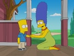 Marge Worries - The Simpsons