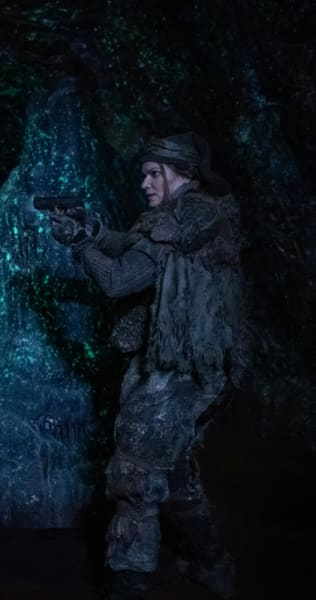 Diyoza in The Cave - The 100 Season 6 Episode 6