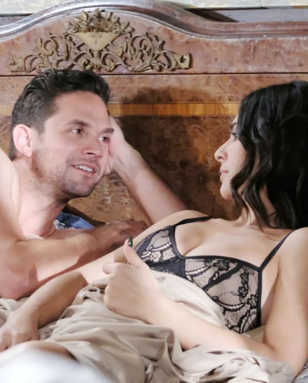 Gabi and Stefan's Latest Tryst - Days of Our Lives