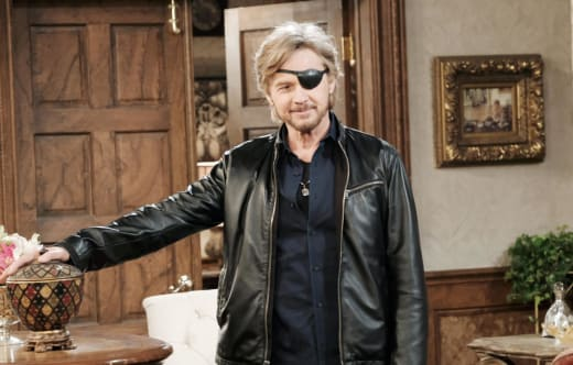 Steve Worries About His Eye Sight - Days of Our Lives
