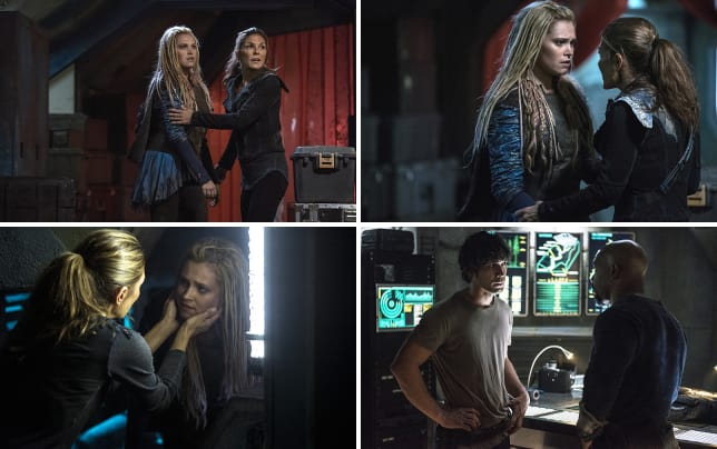Clarke and abby face a threat the 100 season 3 episode 5
