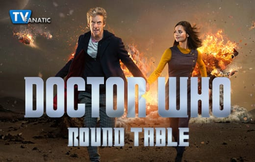 Dr Who Round Table 660px