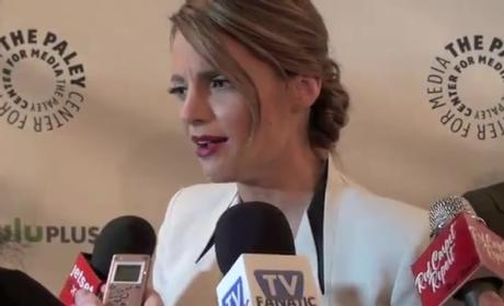 Stana Katic PaleyFest Interview