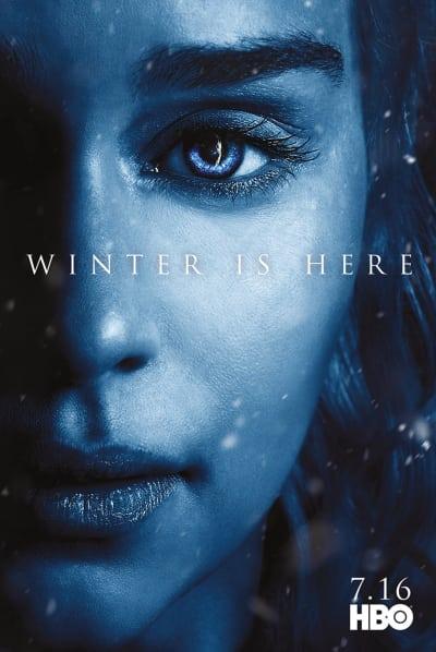 Daenerys Season 7 Poster - Game of Thrones