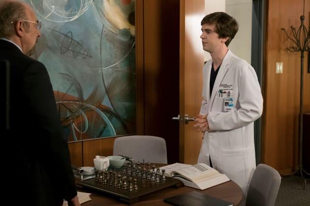 Shaun and Glassman - The Good Doctor Season 1 Episode 13