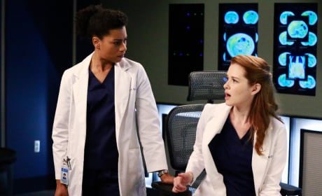 Maggie and April - Grey's Anatomy Season 11 Episode 20