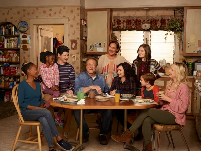 The Conners Cast Photo