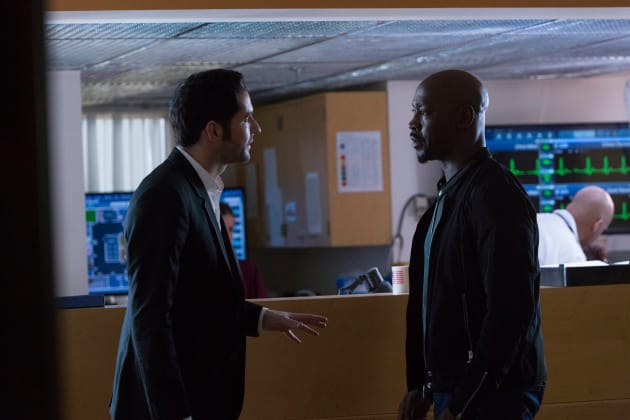 Confrontation - Lucifer Season 2 Episode 13