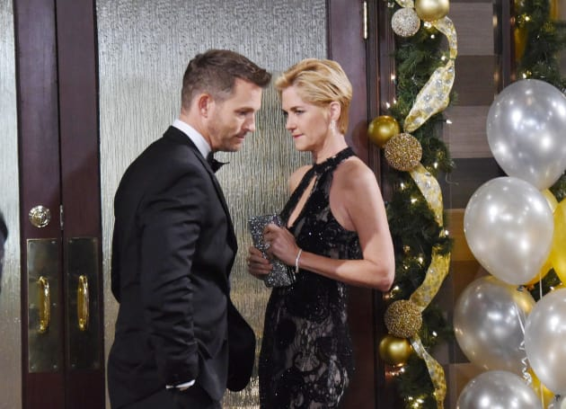 Brady and Eve Crash the Party - Days of Our Lives