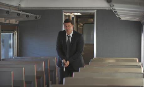 Booth on a Train - Bones Season 10 Episode 22