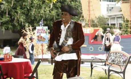 Lavon as a Pirate