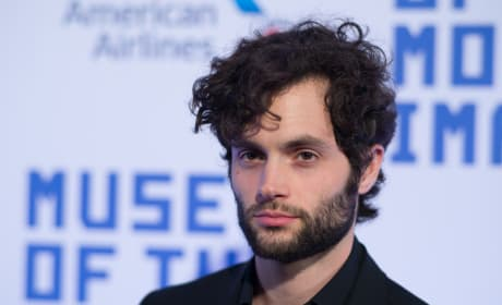 Penn Badgley Attends Event