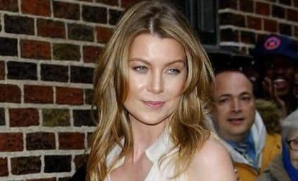 Ellen Pompeo Visits The Late Show