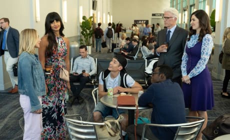 Group Huddle - The Good Place Season 3 Episode 6