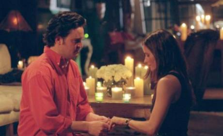 Chandler Proposes - Friends
