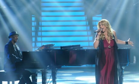 Elise Testone on Stage
