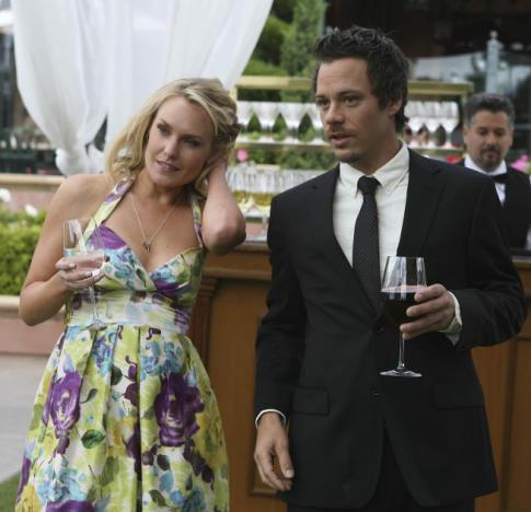 At Gretchen's wedding