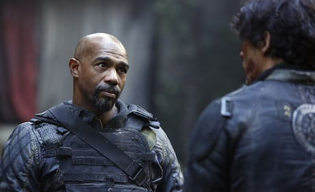 Chancellor Pike - The 100 Season 3 Episode 10