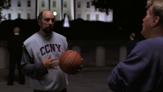 Shouting Down Demons - The West Wing Season 1 Episode 5