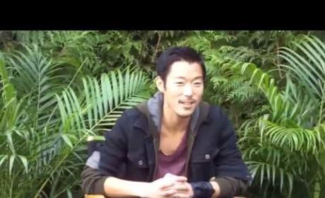 Aaron Yoo Set Interview