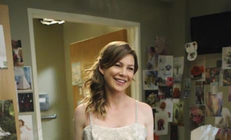 Meredith Grey Wedding Dress