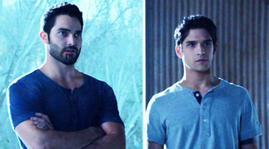 Tyler Hoechlin and Tyler Posey