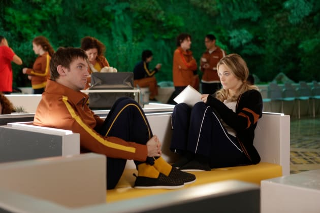 David and Syd Have a Heart to Heart Talk - Legion Season 1 Episode 1