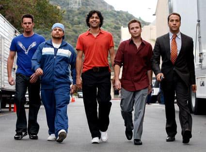 The Entourage Walking