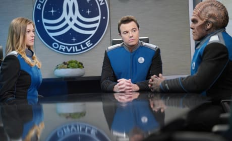Three at the Table - The Orville Season 2 Episode 1
