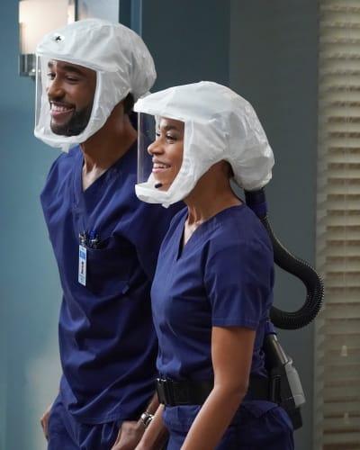 Winston's Idea - - Grey's Anatomy Season 17 Episode 13