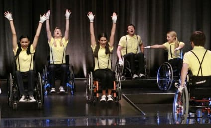 Wheelchairs Galore on Glee!