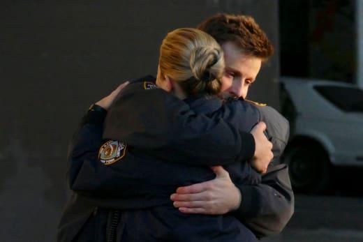Eddie Saves Jamie's Life - Blue Bloods Season 8 Episode 22