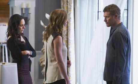 Emily Against David - Revenge Season 4 Episode 11
