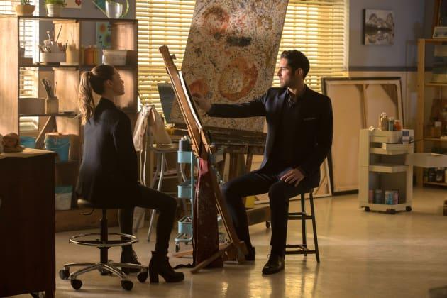 The Artist - Lucifer Season 2 Episode 16