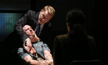 Ressler isn't messing around - The Blacklist Season 4 Episode 8