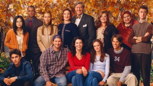 Gilmore Girls Cast Pic