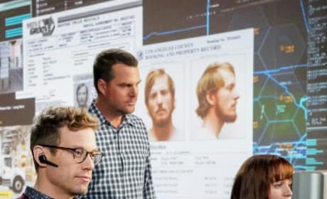 Studying the Evidence - Tall - NCIS: Los Angeles Season 10 Episode 12