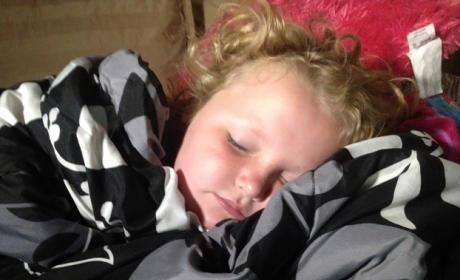 Sleeping Alana