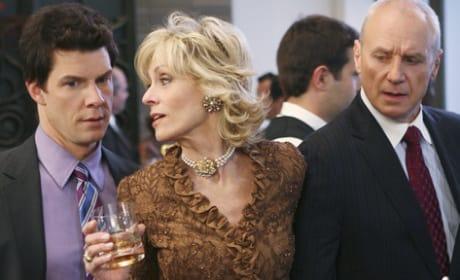 Claire Steals Bradford's Drink