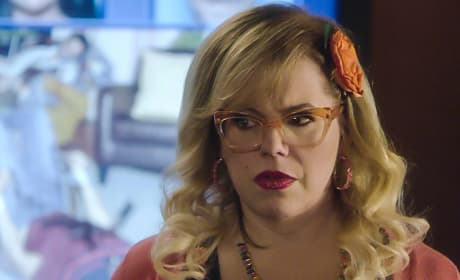 Kirsten Vangsness as Garcia - Criminal Minds Season 13 Episode 15