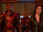 J'onn and Alex - Supergirl Season 6 Episode 2