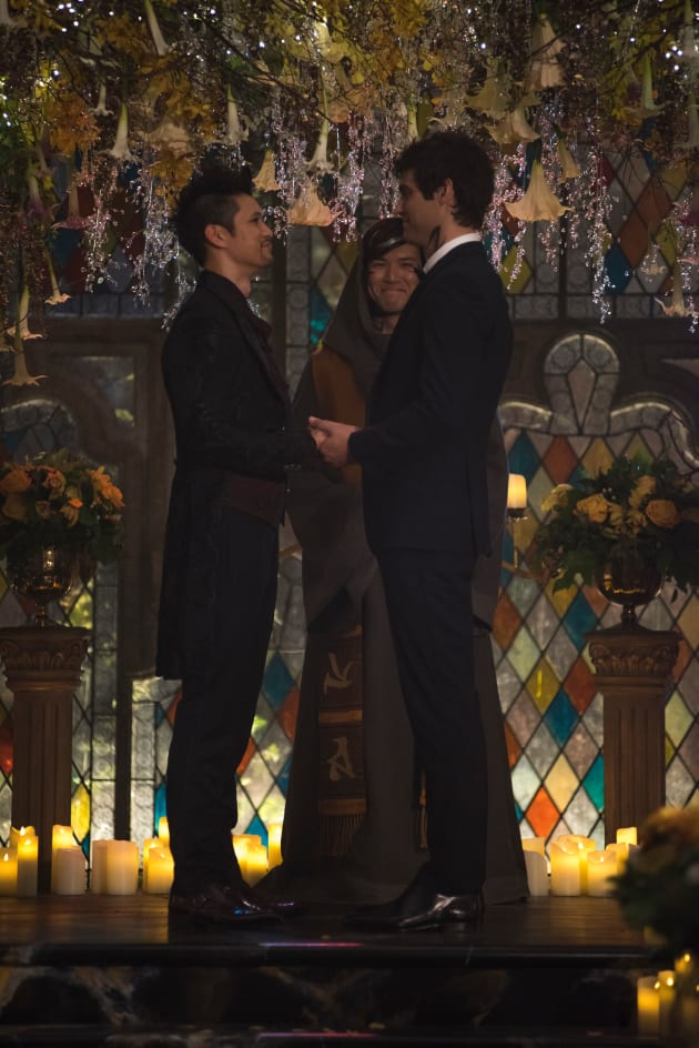 Malec Weds - Shadowhunters Season 3 Episode 22