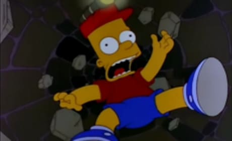Bart in a Well