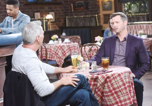 John Offers Brady Advice - Days of Our Lives