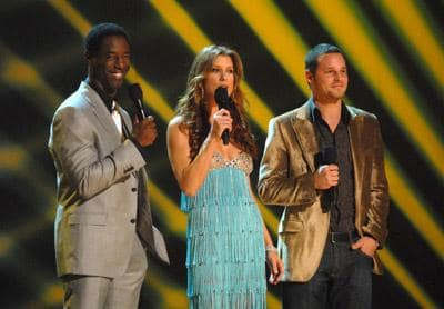Kate Walsh, Isaiah Washington and Justin Chambers