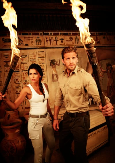 Blood and Treasure Poster