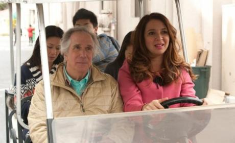 Henry Winkler on Up All Night